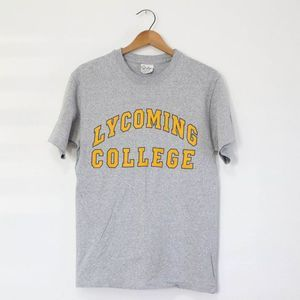 Vintage Lycoming College Warriors T Shirt